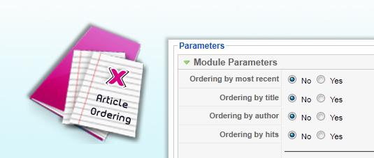 Xarticleordering